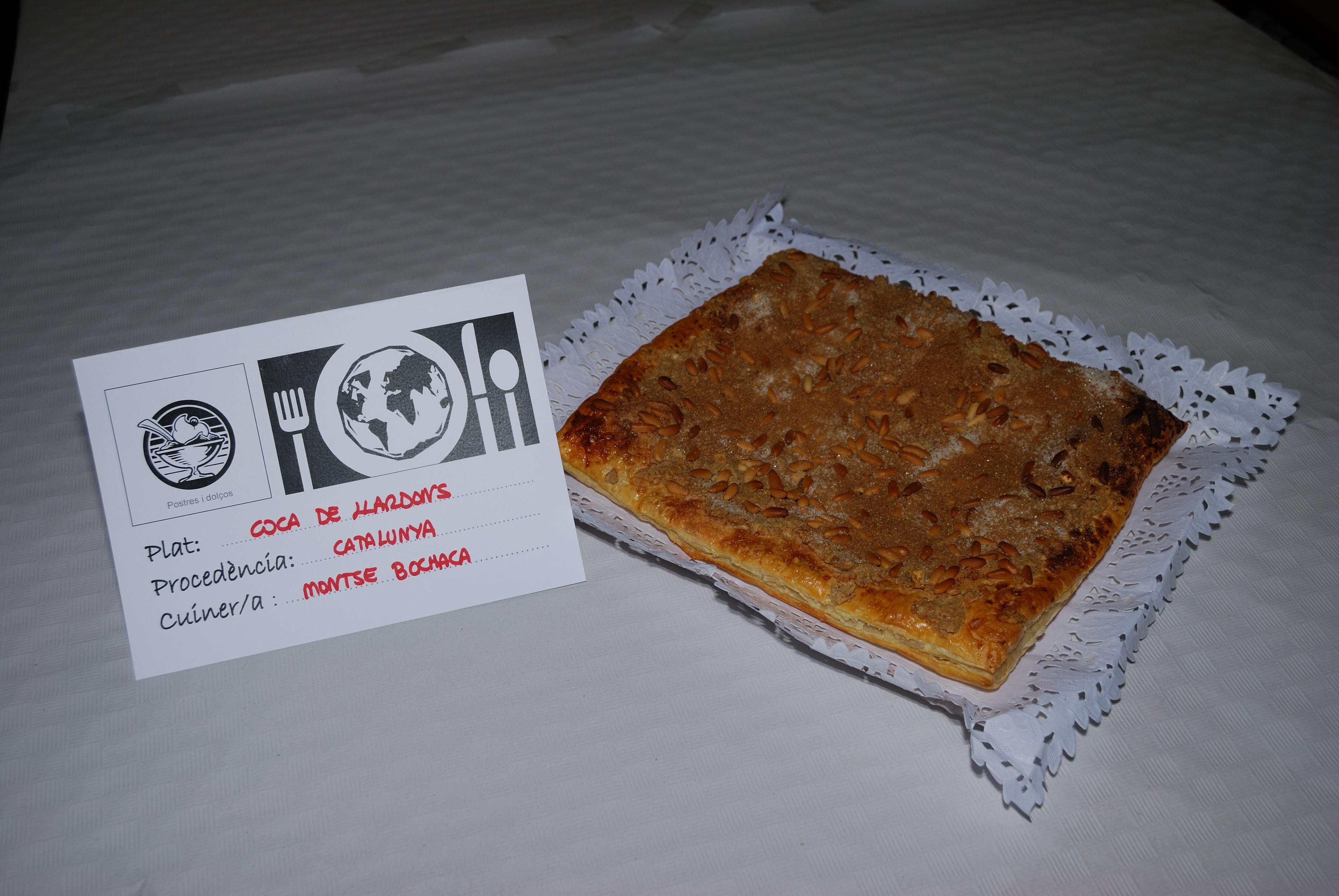 COCA DE LLARDONS